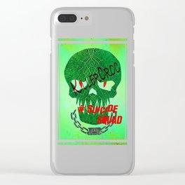 "KILLERCROC ""Suicide Squad"" Clear iPhone Case"