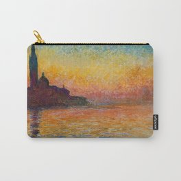 San Giorgio Maggiore by Twilight by Claude Monet Carry-All Pouch