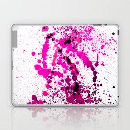Magenta Madness - Splatter Style Laptop & iPad Skin
