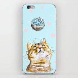 Cat Lover Cake iPhone Skin