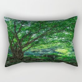 The Greenest Tree Rectangular Pillow