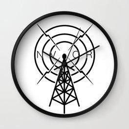 NightVale Community Radio Wall Clock