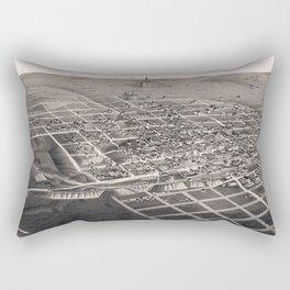 Bismarck - North Dakota - 1883 Rectangular Pillow
