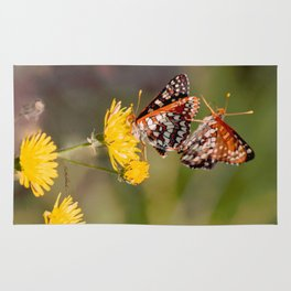 Butterfly Acrobats Rug