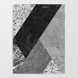 Marble and Granite Abstract Poster