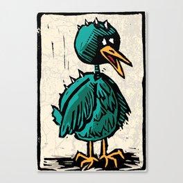 DINO CHICKEN Canvas Print