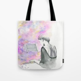 The Unwritten Song Tote Bag