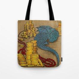 Tiny Dragon Tote Bag