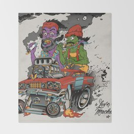 Cheech & Chong Love Machine Throw Blanket