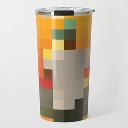 Scum Pixel Flower Boy Travel Mug