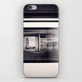 metro long exposure iPhone Skin
