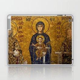 Mosaic Mary and Jesus Laptop & iPad Skin