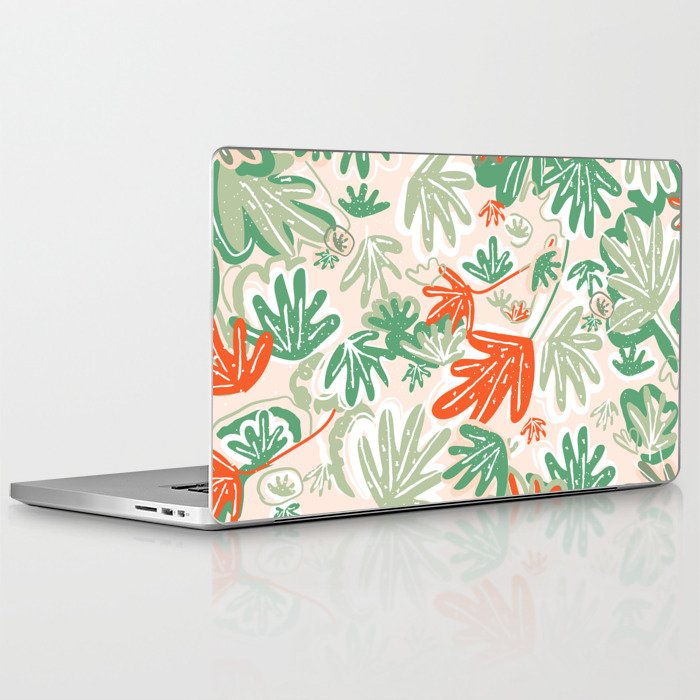 Tropical Abstract Pattern Laptop & iPad Skin