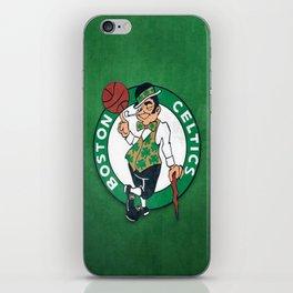 Boston Celtics's celtics iPhone Skin