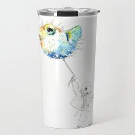 Pufferfish - Puffed up Travel Mug