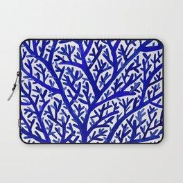 Fan Coral – Navy Laptop Sleeve