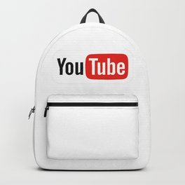 Youtube Logo 2015 Backpack