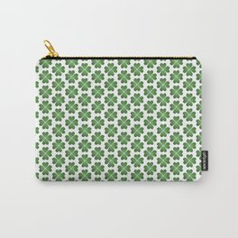 Hearts Clover Pattern Carry-All Pouch
