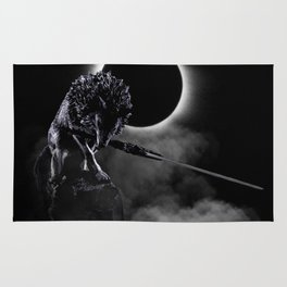 Loyal Wolf Rug