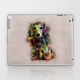 Dachshund Puppy Sketch Paint Laptop & iPad Skin