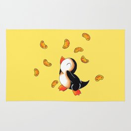 Macaroni Penguin Rug