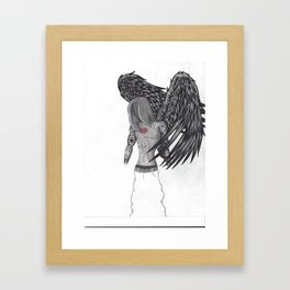 Number Eight Framed Art Print