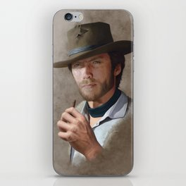 Man with no name ( Clint Eastwood ) iPhone Skin