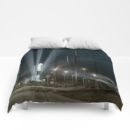 Why Do Rockets Launch At Night Comforters