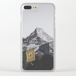 Himalayas Clear iPhone Case