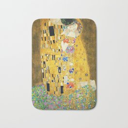 Gustav Klimt The Kiss Bath Mat
