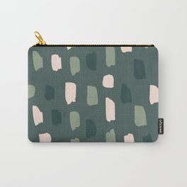 Paintbrush Green Rose Carry-All Pouch