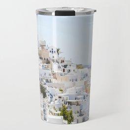 Fira, Santorini Greece Travel Mug