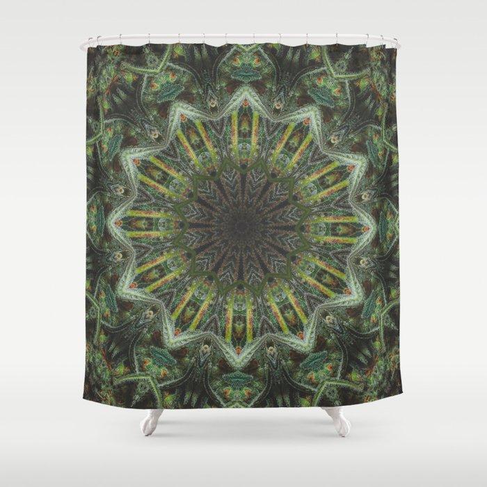 Rasta Healer Shower Curtain