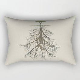 In the deep (tree) Rectangular Pillow
