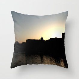 Skyline Bilbao Throw Pillow