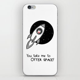 Otter Space iPhone Skin
