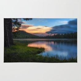 Dreaming Juanita Lake in Northen California Rug