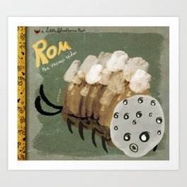 rom the vacuous spider Art Print
