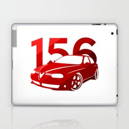 Alfa Romeo 156 - classic red - Laptop & iPad Skin
