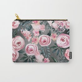 Night Rose Garden Carry-All Pouch