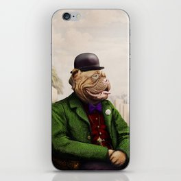Remy Rottweiler Amid the Ancient Ruins iPhone Skin