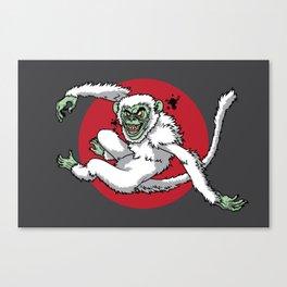 Ghost Monkey Canvas Print