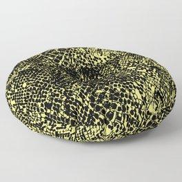 Snake Limelight Floor Pillow