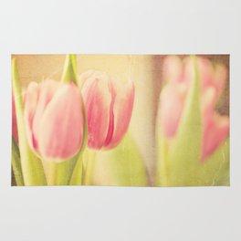 Vintage Tulips Rug
