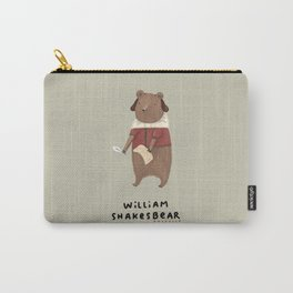 William Shakesbear Carry-All Pouch