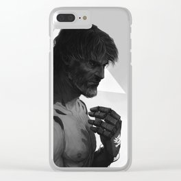 Augmented Corvo Clear iPhone Case