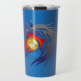 Crazy Horse Travel Mug