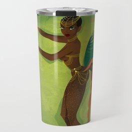 Coco LaSamba - A Burlesque Jungle Christmas Travel Mug