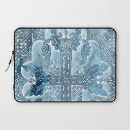 Celtic Blue - JUSTART © Laptop Sleeve
