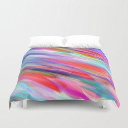 Colorful digital art splashing G399 Duvet Cover